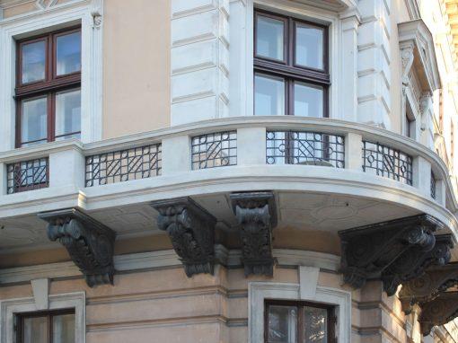 Restaurierung Balkon