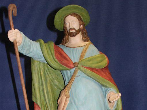 """Restaurierung Statue """"Der gute Hirte"""""""