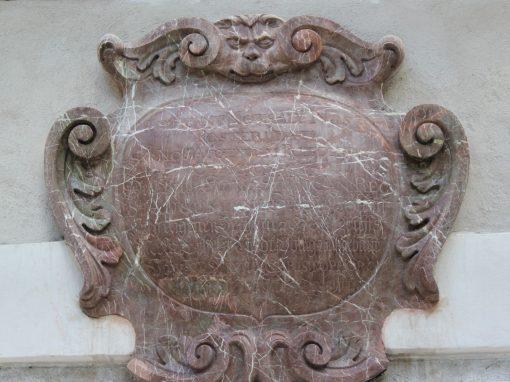 Restaurierung Wappen